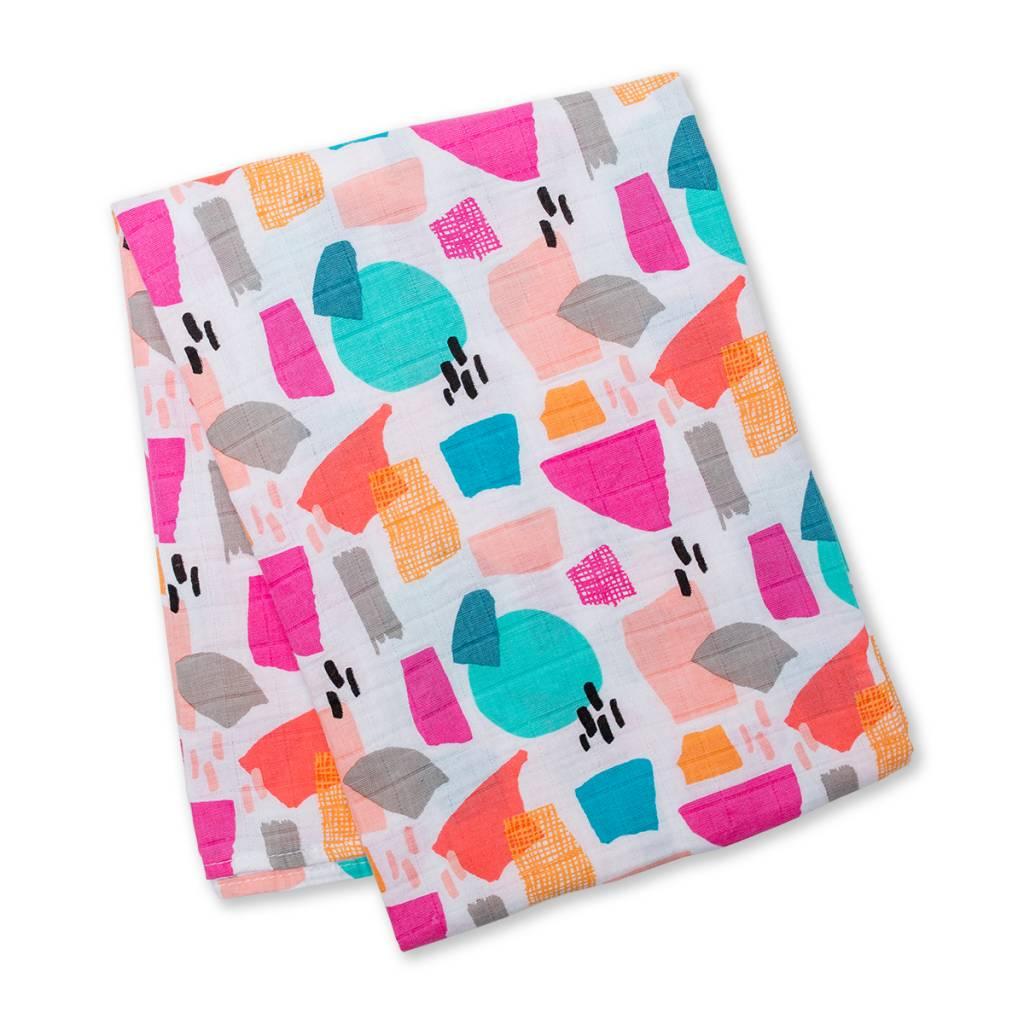 Lulujo Muslin blanket - Paper Cut