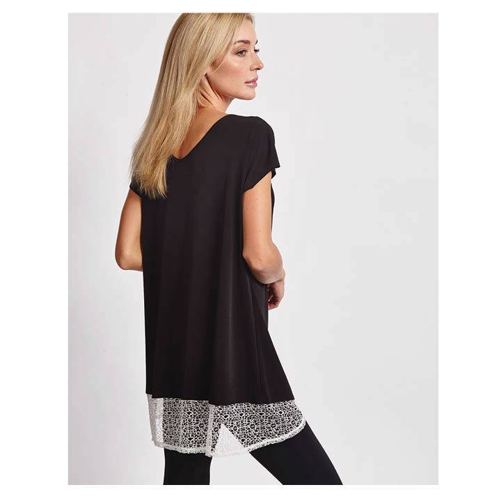 It Fitz Me! Lace Hem Top