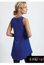 It Fitz Me! Scoop Neck Tunic in Royal Blue
