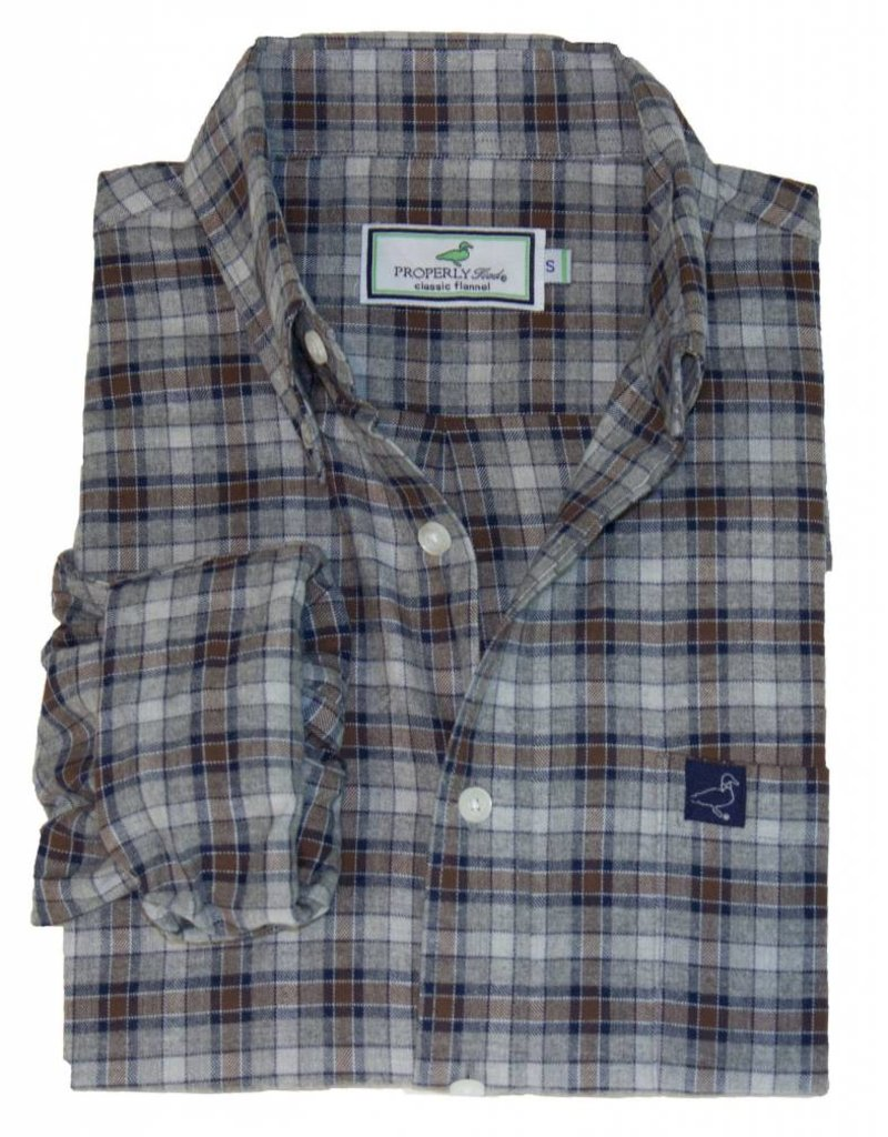 Properly Tied PT Flannel - Marks