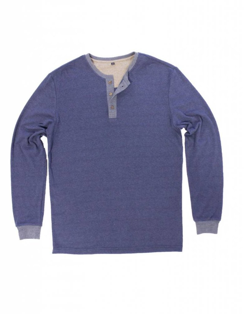 Properly Tied Livingston Henley - Monaco Blue