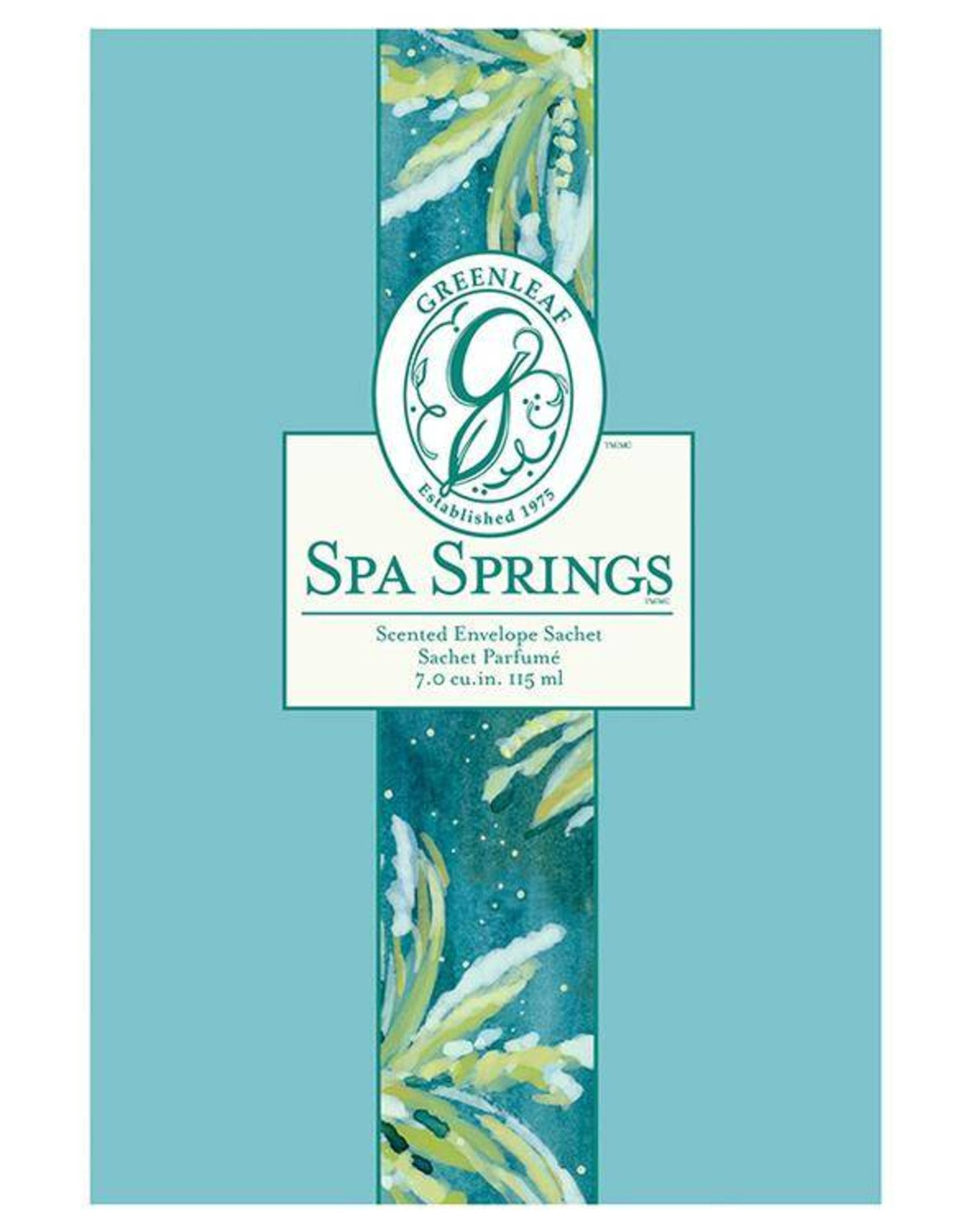greenleaf Spa Springs Large Sachet