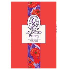 Painted Poppy Large Sachet