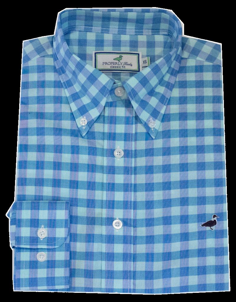 Properly Tied PT Lagoon Dress Shirt