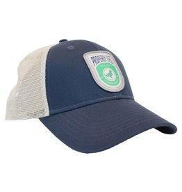 Properly Tied PT Trucker Hat- Shield Logo