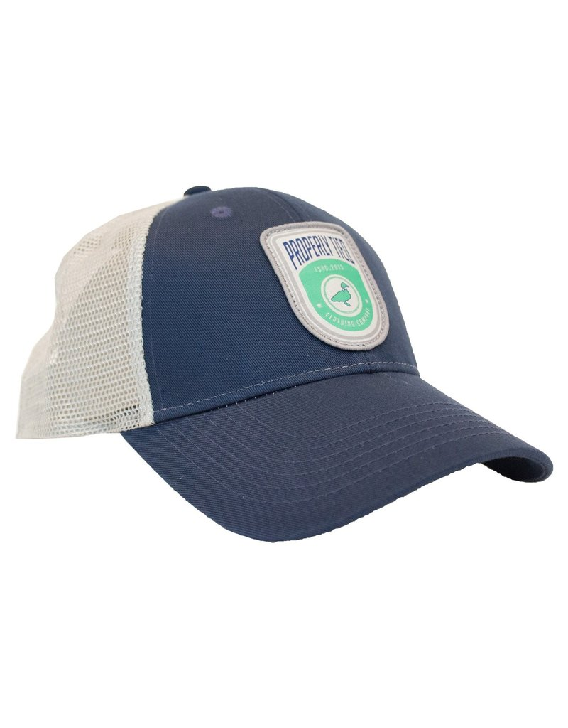 Properly Tied PT Trucker Hat- Shield Logo