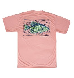 Properly Tied PT Crappie Performance Tee SS Melon