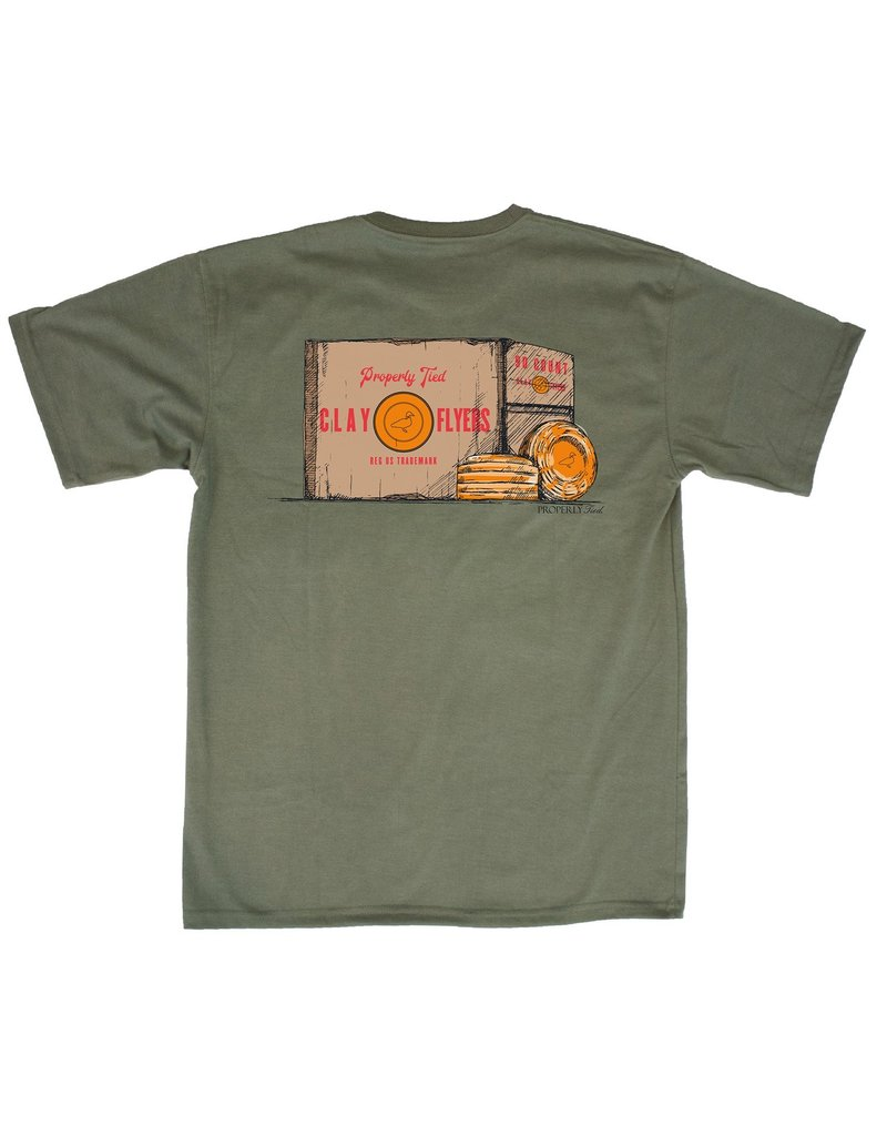 Properly Tied PT Clay Flyers SS Olive