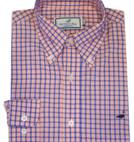 Properly Tied PT Seasonal Sportshirt Grayton Peach