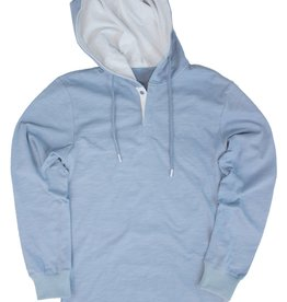 Properly Tied PT Pacific Hoodie Washed Blue