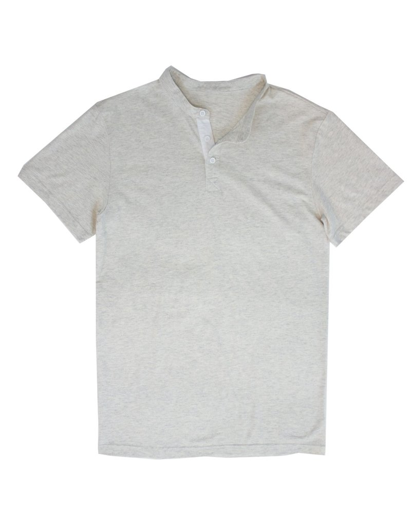 Properly Tied Skyline Henley Marble