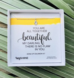 Tiny Shine - You are Beautiful Silver