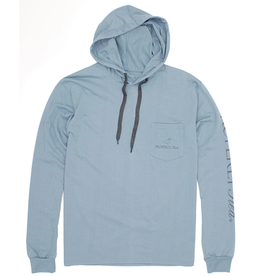 Properly Tied PT Gulf Hoodie Steel Blue