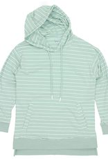 Properly Tied PT Reece Hoodie Washed Blue Stripe