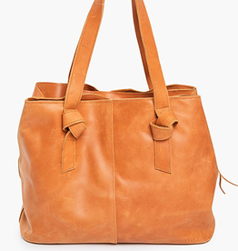 ABLE Rachel Utility Bag: Cognac