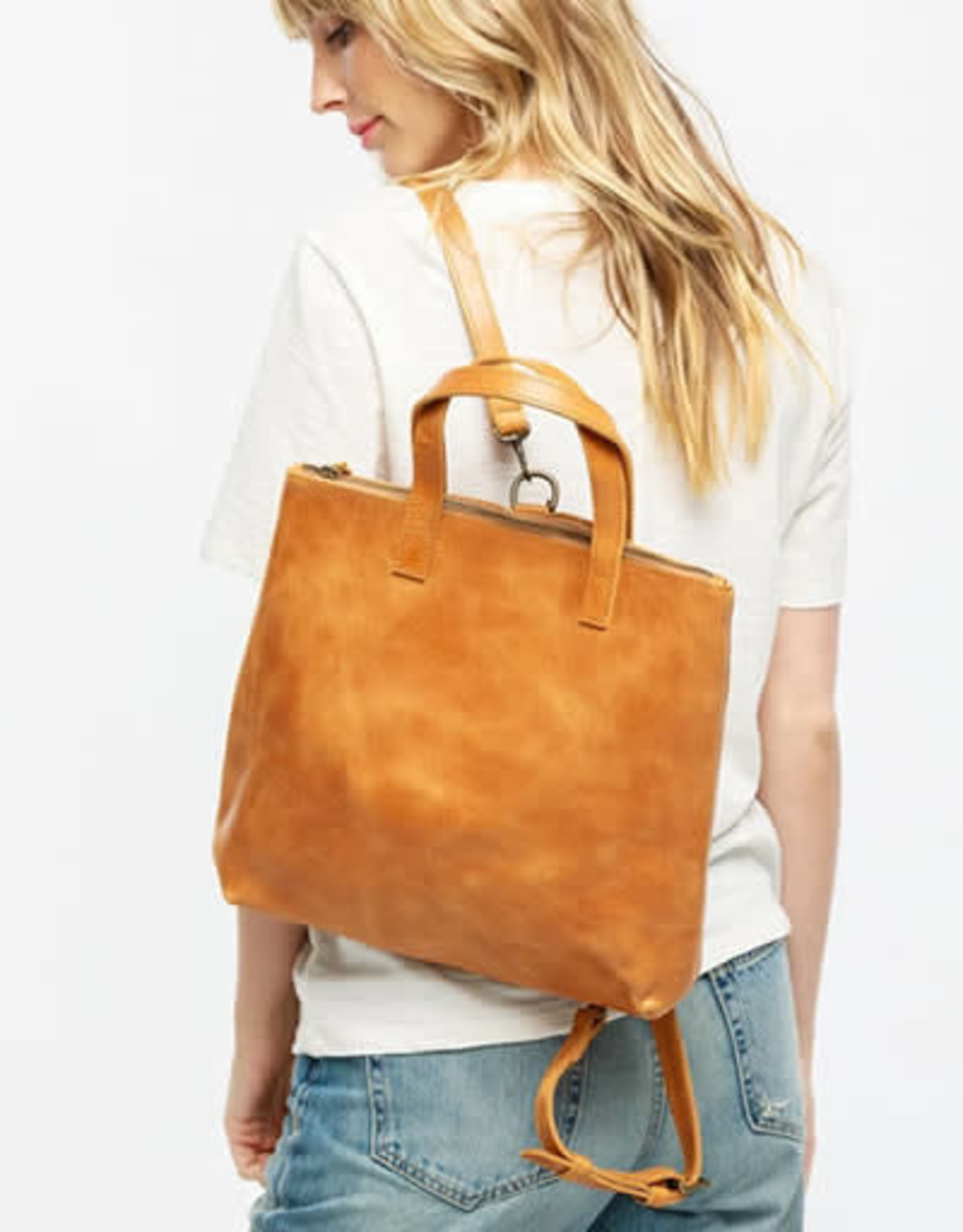 ABLE Abera Backpack: Cognac