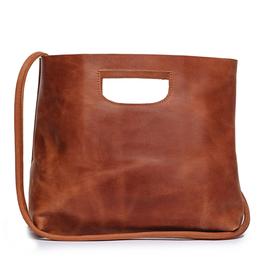 ABLE Hanah Handbag: Chestnut