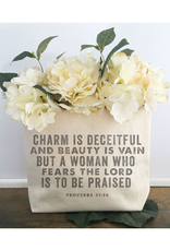 Southern Fried Design Barn Proverbs 31:30 Zipper Pouch