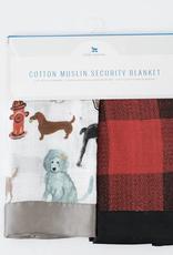 Little Unicorn Cotton Muslin Security Blanket Dog