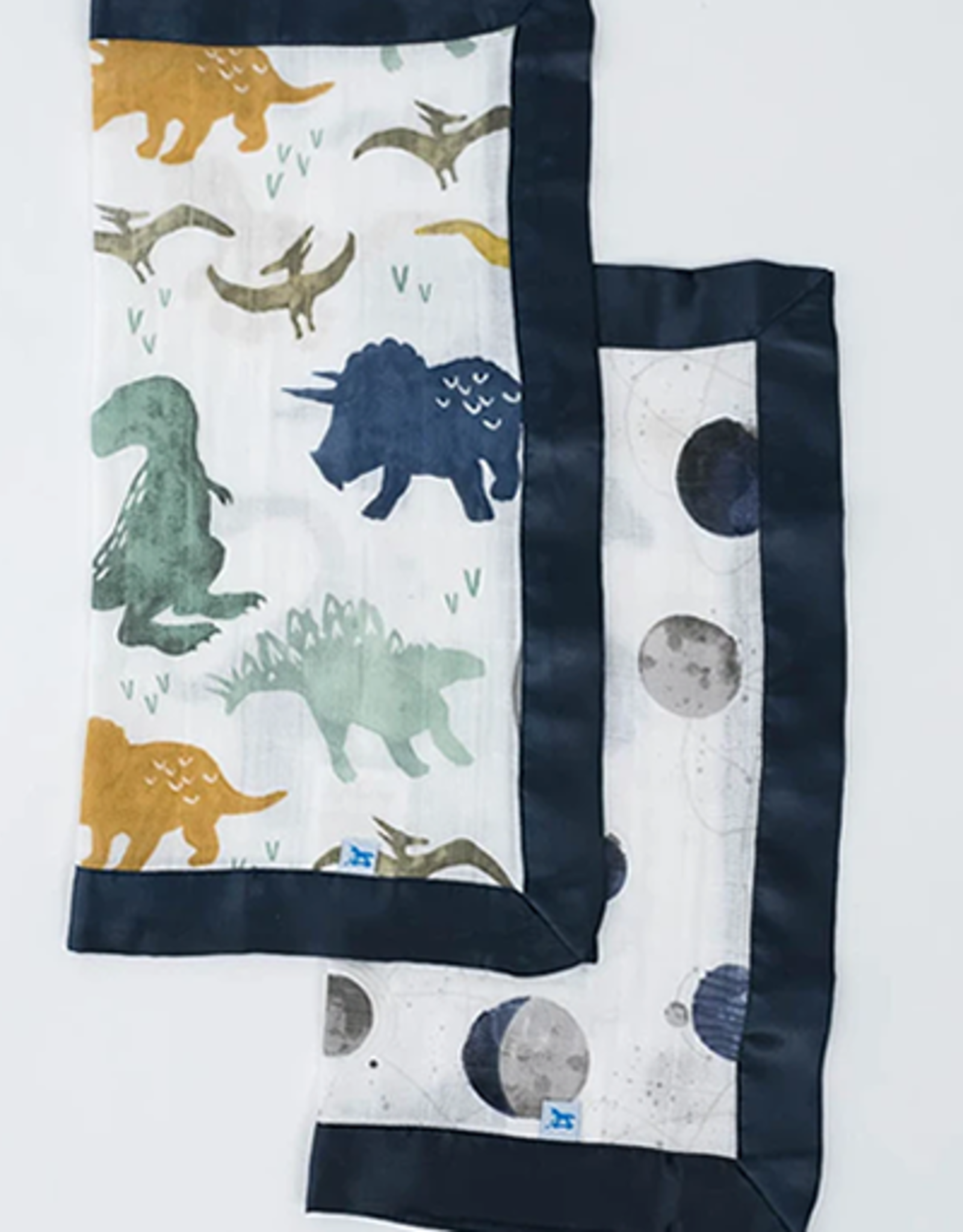 Little Unicorn Dino + Planetary Security Blanket 2pck
