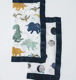 Little Unicorn Dino + Planetary Security Blanket 2pck