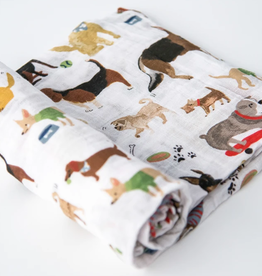 Little Unicorn Single Swaddle Woof
