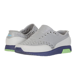 Native Lennox Block- Pigeon Grey/ Regatta Blue/ Grasshopper Green CHILD