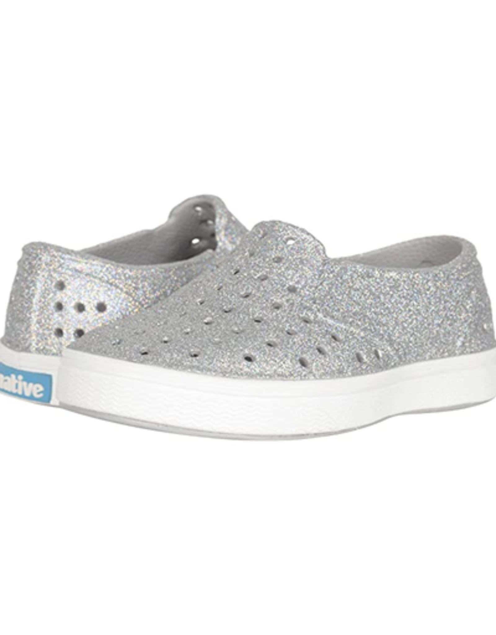 Native Miles Bling Disco Bling/Shell White CHILD