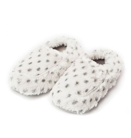 Warmies Snowy Leopard Warmies Slippers