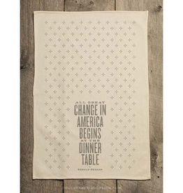 Southern Fried Design Barn Ronald Reagan Quote Kitchen Towel