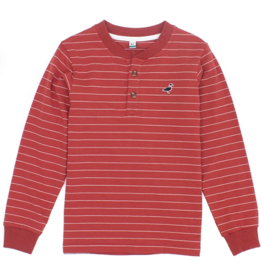 Properly Tied Kennon Henley Nantucket Red