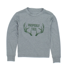 Properly Tied Portland LS Antlers Moss Grey