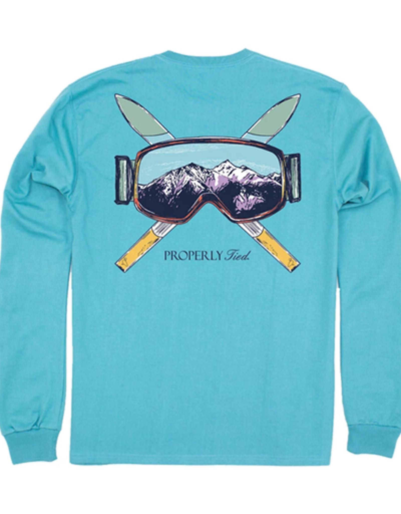 Properly Tied Ski Mountain LS Emerald