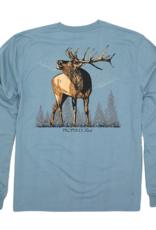 Properly Tied Elk LS Steel Blue