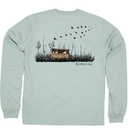 Properly Tied Duck Blind LS Sage