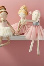 mud pie Red Hair Ballerina Doll