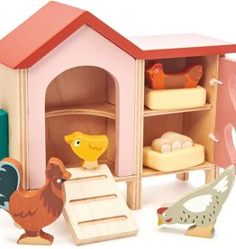 tender leaf toys Chicken Coop Play Set