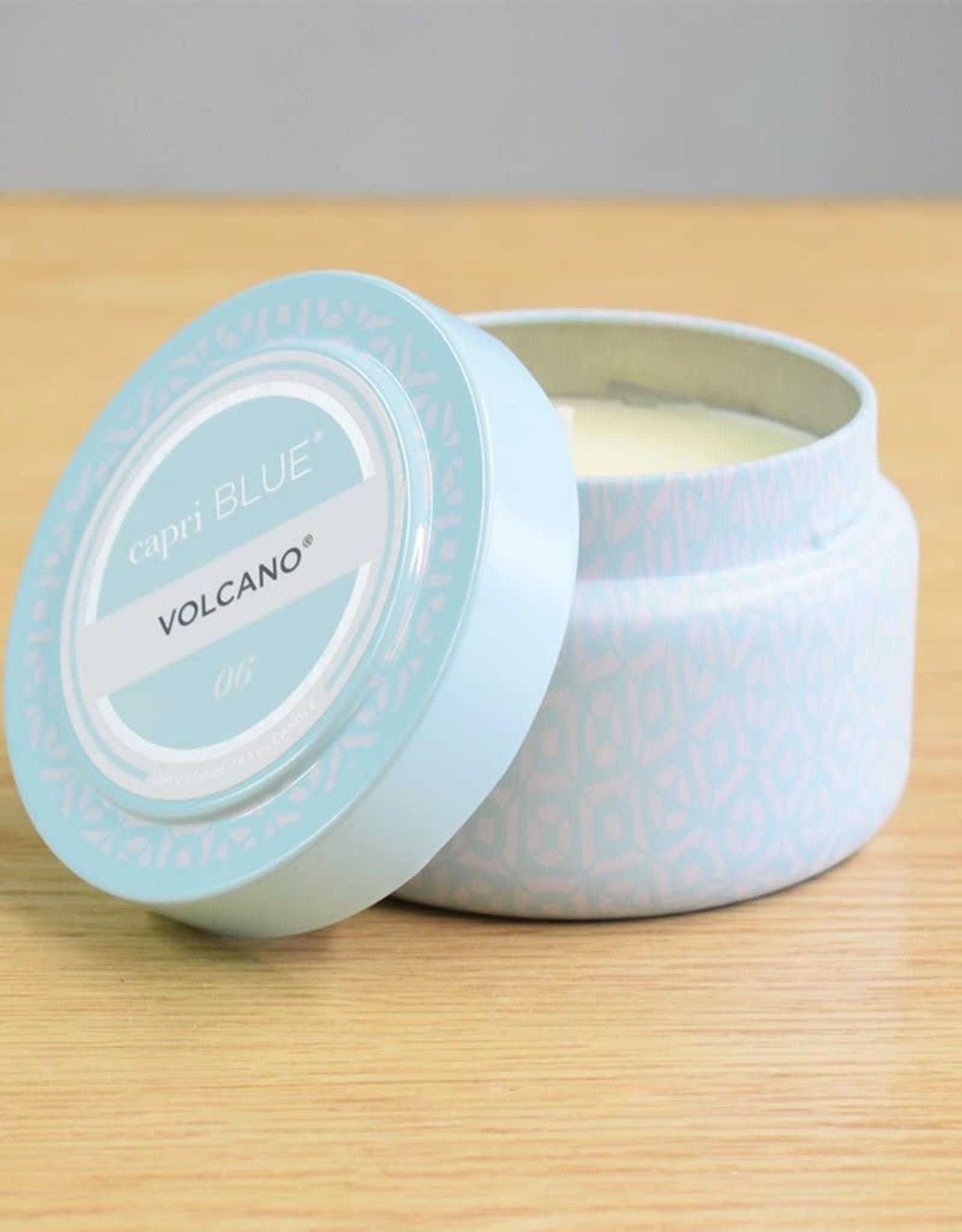 capri blue Volcano Aqua Tin Candle 8.5oz