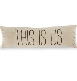 Mudpie This is Us Long Pillow