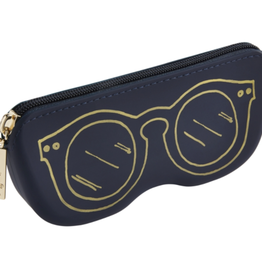 Mudpie Silicone Sunglasses Pouch Navy