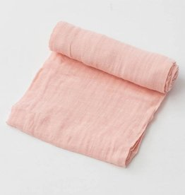 Little Unicorn Cotton Muslin Swaddle Single- Rose Petal