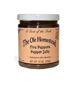 The Ole Homestead Five Peppers Pepper Jelly