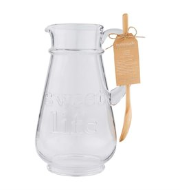 Mudpie Sweet Life Pitcher