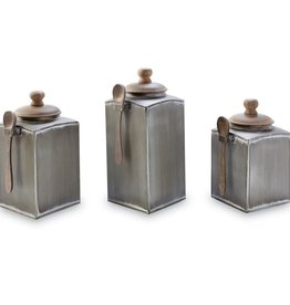 Mudpie Tin Canister Set