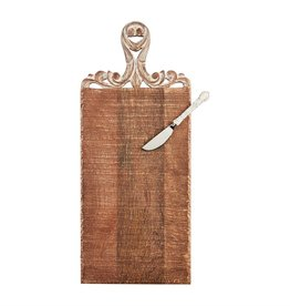 Mudpie Rectangle Carved Board Set
