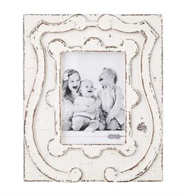 Mudpie 5x7 Antique Crest Frame