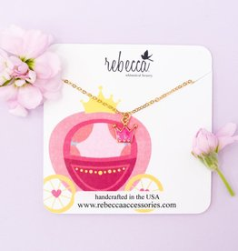 Rebecca Crown Necklace