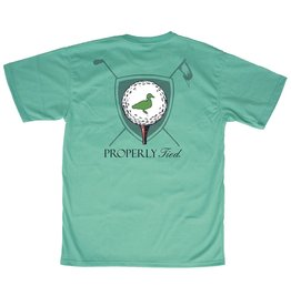 Properly Tied PT Tee Time SS Soft Green