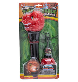 Toy Network Light up T-Rex Bubble Blower