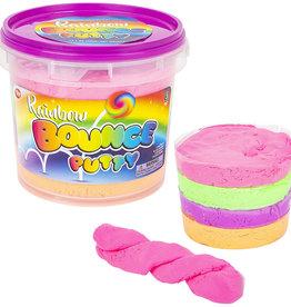 Toy Network Rainbow Bounce Putty Jumbo Bucket